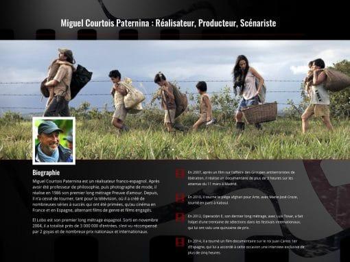 Miguel Courtois Paternina : Réalisateur, Producteur, Scénariste