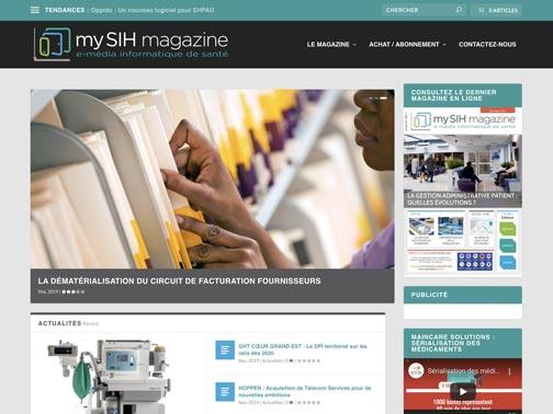 Mysih : Magazine e-média de l'informatique de santé